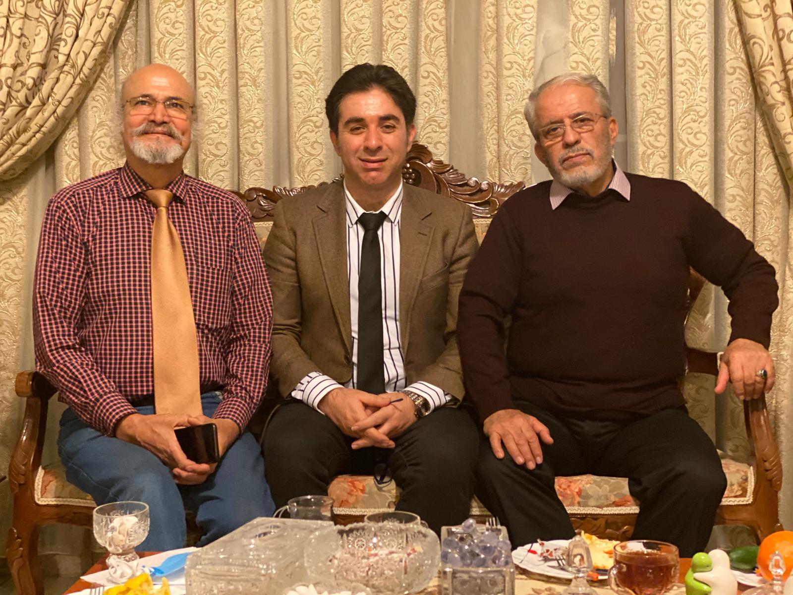 امید دارابی- سیدجلال محمدیان- جهانشاه باباخانی- عبدالرضا رادفر