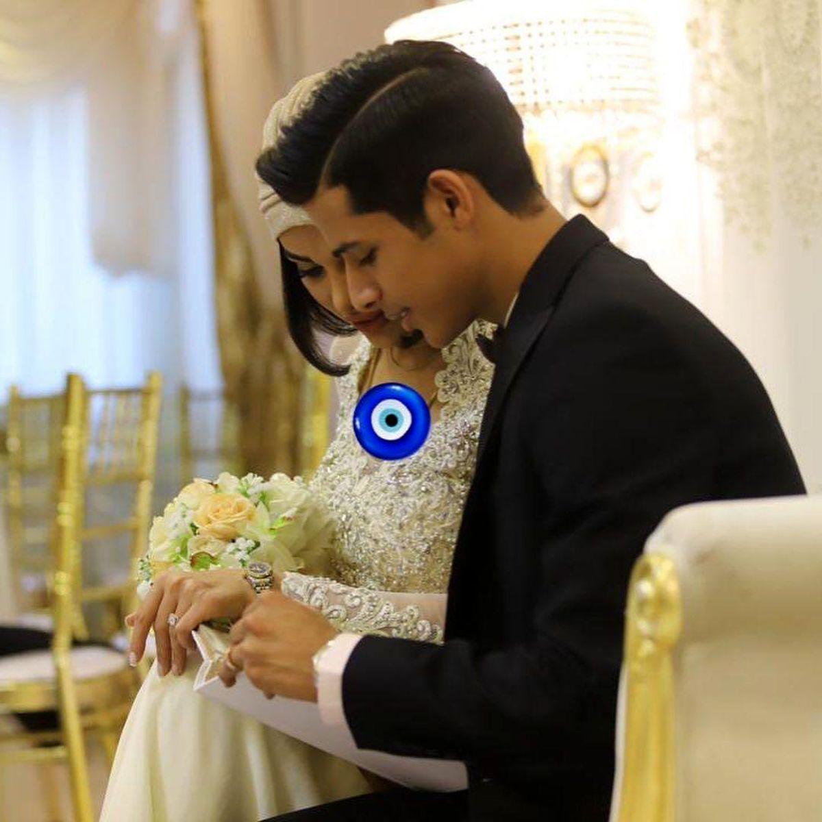 مراسم-عروسی-لاکچری-مهدی-قائدی-همسرش--عکس-57417