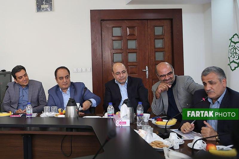 معارفه مدیرعامل جدید سازمان مدیریت پسماند شهر تهران به روایت تصویر