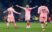 ترکیب بارسلونا برای دیدار با لوانته اعلام شد