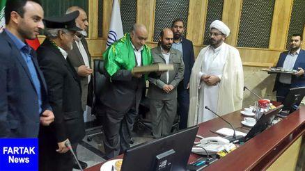 حضور کاروان زیر سایه خورشید در سالن جلسات استانداری کرمانشاه
