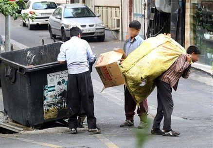 """زندگی بیش از ۴ هزار کودک زباله گرد در تهران/""""نانخشکی"""" دیروز، میلیاردر امروز"""