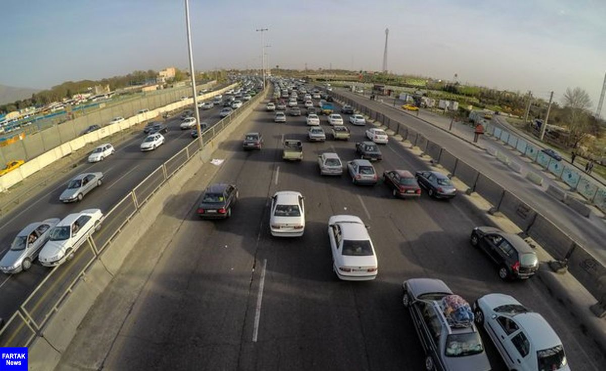 وضعیت ترافیکی صبح امروز در جادهها/ باد شدید در۶ استان