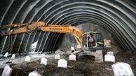 گزارش تصویری آغاز عملیات اجرایی تونل سیاه طاهر در محور جوانرود _ ثلاث باباجانی