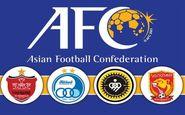 اعلام برنامه دقیق بازی تیمهای ایرانی در آسیا