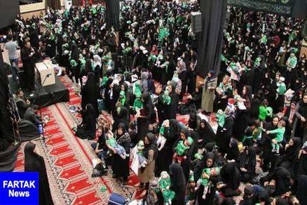 آیین معنوی شیرخوارگان حسینی در آذربایجان غربی برگزار شد