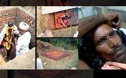 اقدام عجیب مرد هندوستانی در زنده به گور کردن خودش! +فیلم