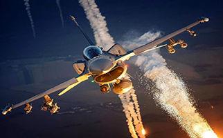 مهارت فوق العاده خلبان جت جنگنده در پرتاب فلر + فیلم