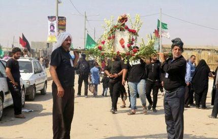 مردم دزفول برای زائرین اربعین حسینی سنگ تمام گذاشتند