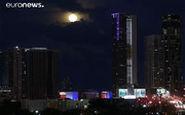 ماه آبی را در آسمان آلمان و آمریکا ببینید