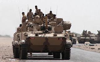 لحظه انهدام نفربر سودانی توسط رزمندگان یمنی + فیلم
