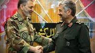 دیدار فرمانده ارتش با فرمانده سپاه