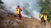 ۱۱ گروه برای اطفای آتشسوزی  در جنگلهای هیرکانی استان گلستان  اعزام شدند