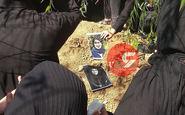 خاکسپاری مهشاد کریمی و ریحانه یاسینی / اشک و آه در بهشت زهرا (س) + فیلم و عکس