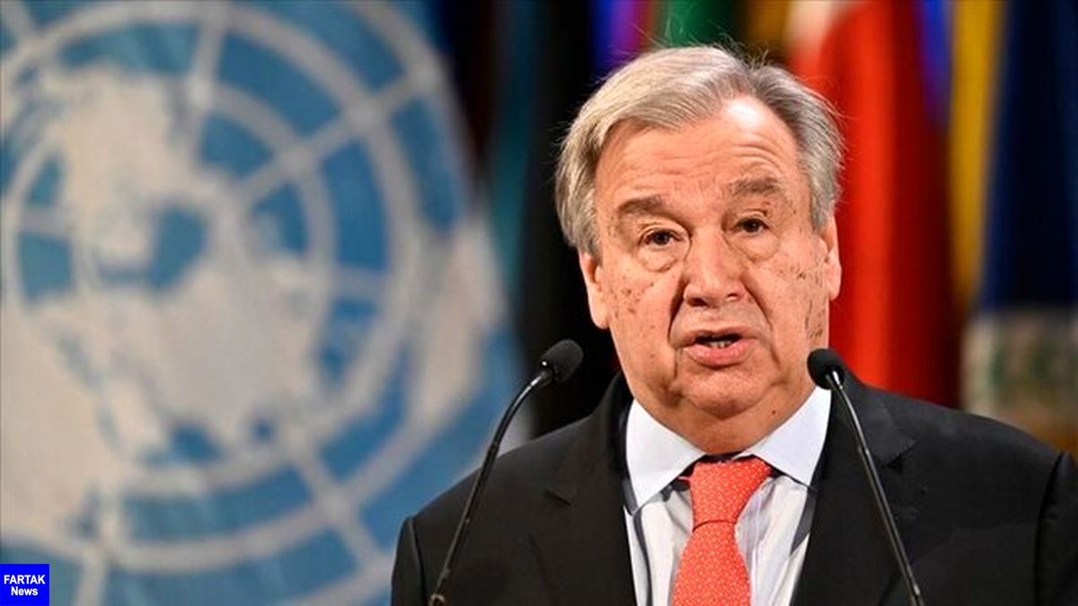 گوترش: راهکار سیاسی تنها راه پایان جنگ در سوریه است