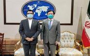 دیدار سفیر چین با سخنگوی وزارت امور خارجه