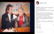 لطفی که عزت الله انتظامی در حق آقای بازیگر کرد! /عکس