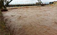 رودخانه «کشکان» طغیان کرد/ تخریب پلهای ارتباطی روستاهای سیلزده پلدختر