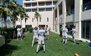 ریکاوری ملیپوشان تیم ملی فوتبال ایران در هتل +عکس