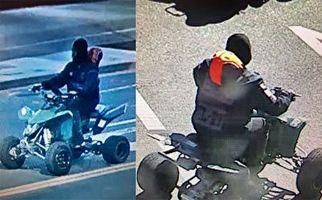 آسیب دیدن یک پلیس حین دستگیری راننده موتور چهار چرخ + فیلم