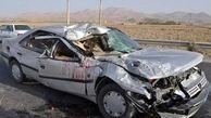 واژگونی خودرو در جاده بادرود- اردستان یک کشته و ۲ زخمی داشت