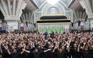 برگزاری مراسم عزاداری حضرت زهرا(س) در حرم امام راحل