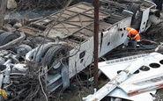 علت اصلی واژگونی اتوبوس در اصفهان، خواب آلودگی راننده بوده است