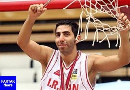 خداحافظی آرن داوودی از تیم ملی بسکتبال