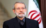 لاریجانی درگذشت پدر شهید آوینی را تسلیت گفت