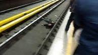 خودکشی مرد 45 ساله در ایستگاه مترو جهاد