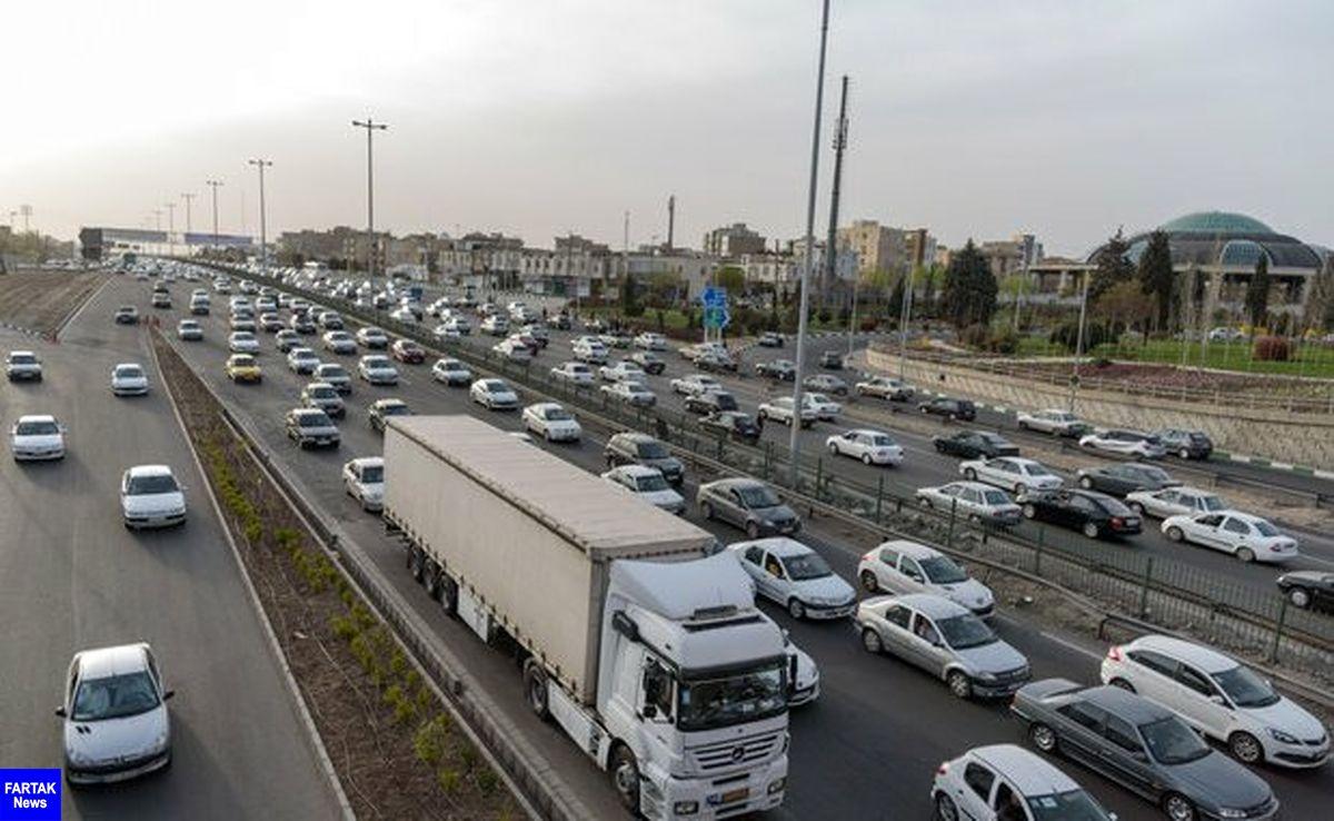 آخرین وضعیت جوی جادههای کشور در عصر جمعه