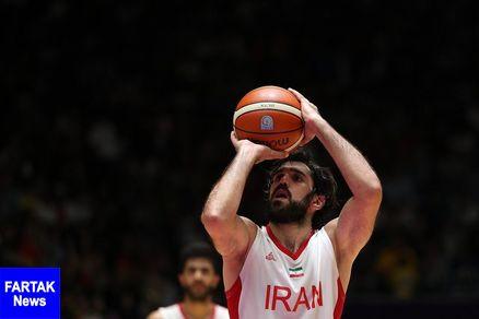 بسکتبالیستهای ایران پیروز نخستین بازی دوستانه با اردن