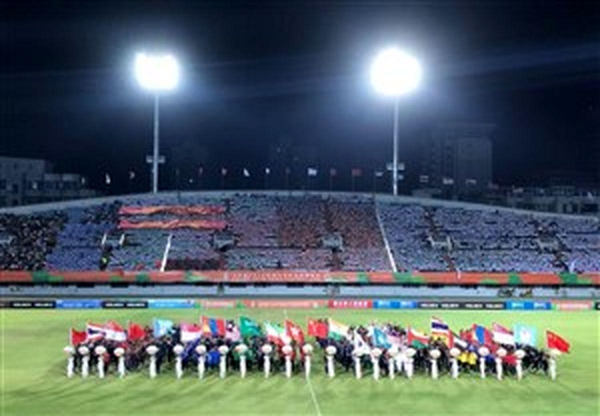 برگزاری فوتبال دانشجویان ملتهای آسیا در شهریور 1400