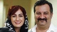 خنده های سرخوش خانم بازیگر ایرانی در کافه لاکچری + عکس