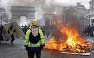 تشدید درگیری نیروهای پلیس با جلیقه زردها در شمال فرانسه