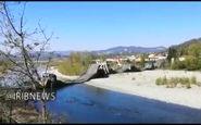 فیلم/ فرو ریختن پل بزرگی در ایتالیا