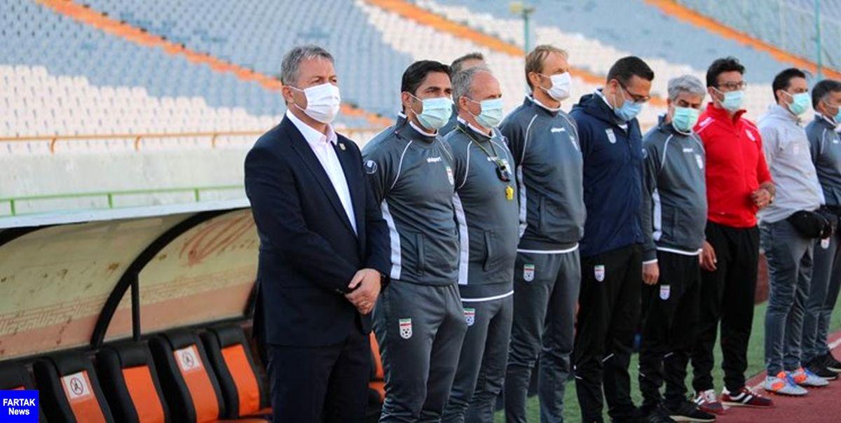 با تصمیم AFC حضور خبرنگاران در نشست خبری تیم ملی ایران آزاد شد