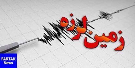 دقایقی پیش زلزله 3.3 ریشتری فنوج را لرزاند