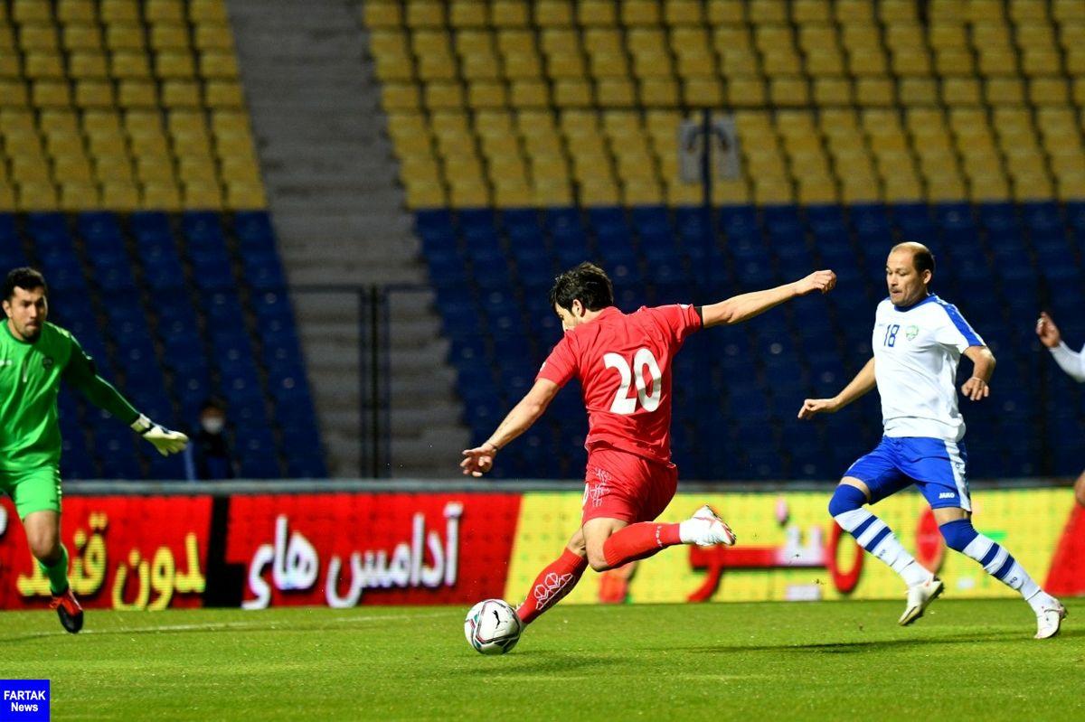 AFC: ایران با شلیک آزمون و طارمی مقابل ازبکستان پیروز شد