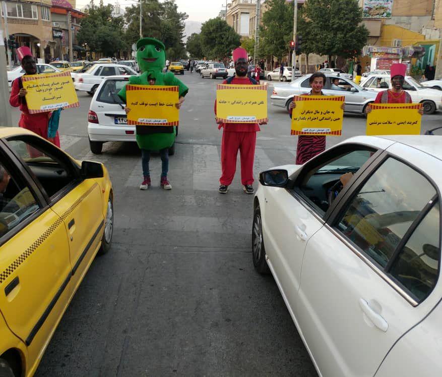 """""""کمپین از خودمان شروع کنیم""""در شهر کرمانشاه به روایت تصویر"""