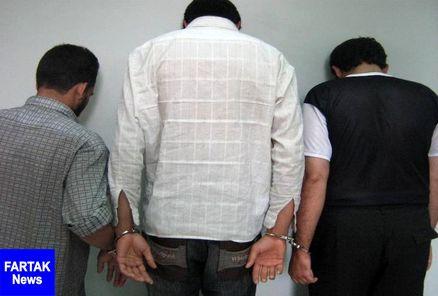 سارقان مغازه طلافروشی سنندج دستگیر شدند