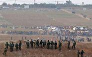زخمی شدن 241 نفر در حمله نظامیان صهیونیست به راهپیمایی بازگشت