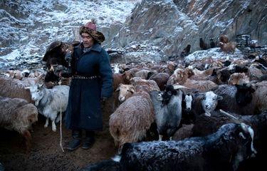 عکس منتخب نشنال جئوگرافیک | قزاق چادرنشین
