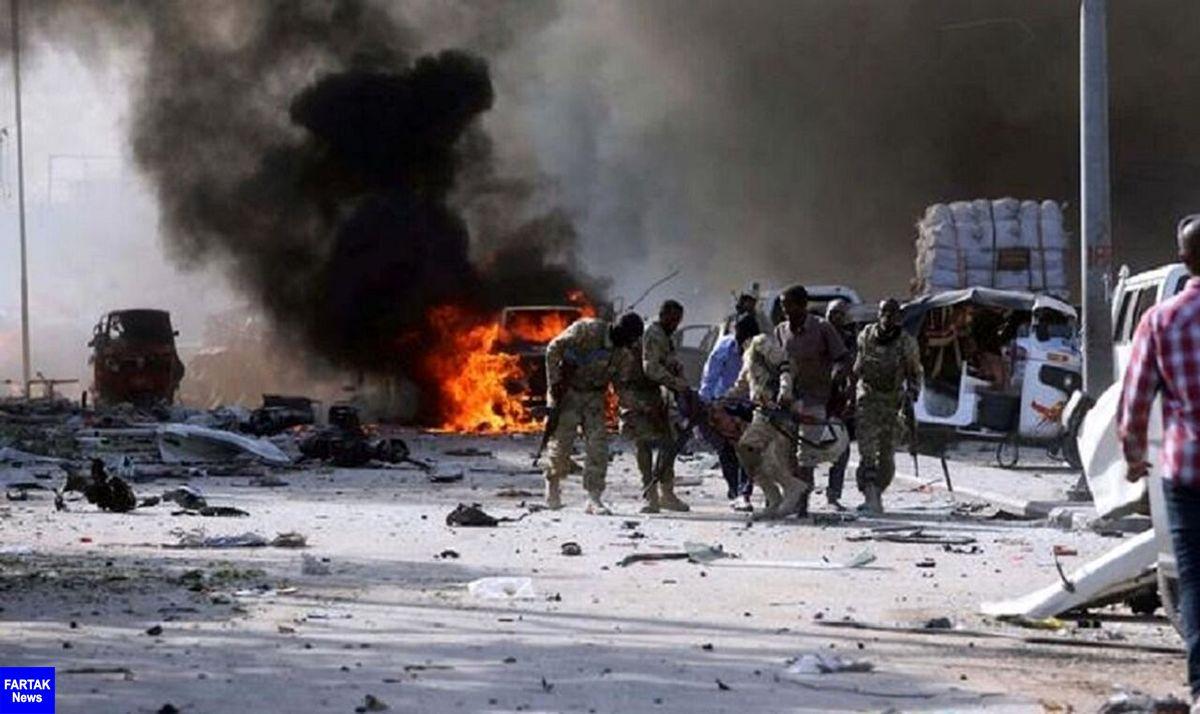 انفجار انتحاری در سومالی/ دستکم ۱۰ نفر کشته شدند