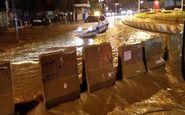 خسارت ۱۵ میلیاردی طوفان مهران به جادههای ایلام
