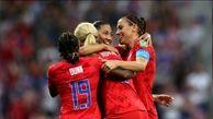 آمریکا فینالیست جام جهانی فوتبال زنان شد