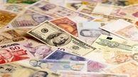 قیمت روز ارزهای دولتی ۹۷/۱۲/۲۲|نرخ ۱۹ ارز نزولی شد