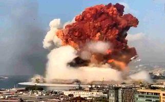 فیلم جدید و هولناک از نمای نزدیک لحظه انفجار در بیروت