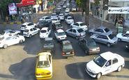 ترافیک سنگین در بزرگراههای تهران