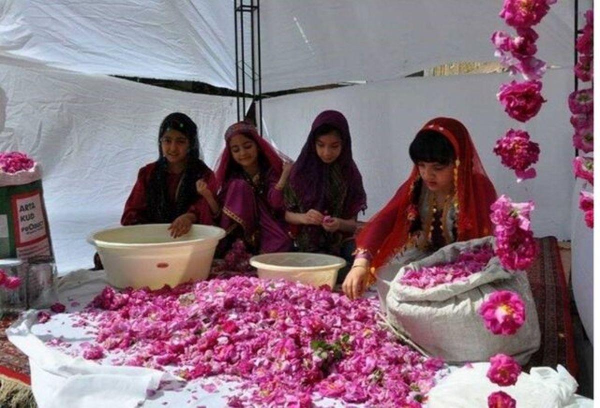 برگزاری سومین جشنواره گلاب گیری در خوی